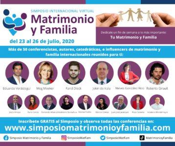 Inscribete gratuitamente en el Simposio de Matrimonio y Familia