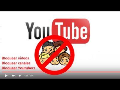 Cómo bloquear contenido en YouTube