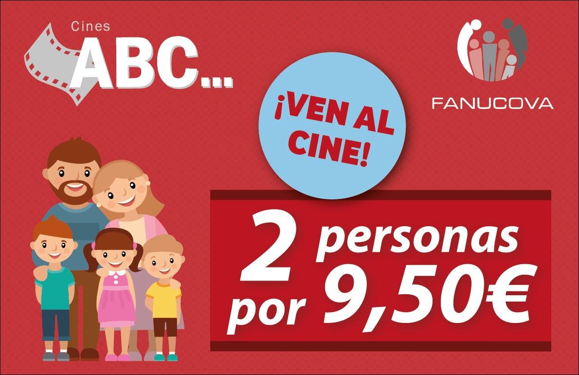 Ven a Cines ABC por solo 4,75€